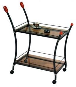 Стол сервировочный Поло (черный)
